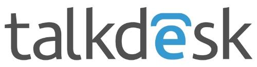 Talkdesk logo (PRNewsFoto/Talkdesk)